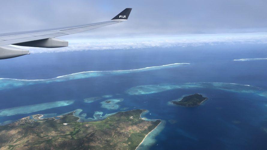 フィジー島のナンディにて1日トランジット・・・🏖