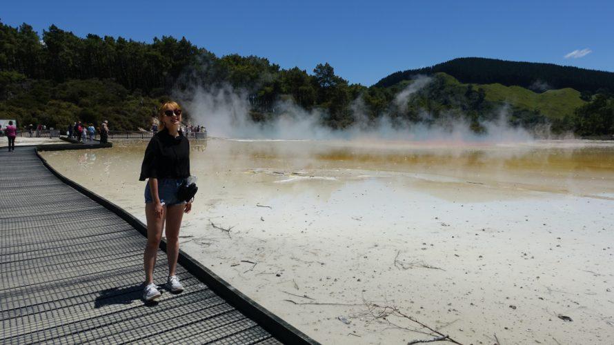 ニュージーランドの有名温泉地《ロトルア》