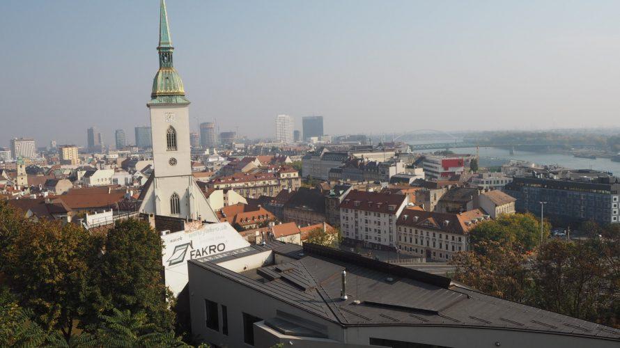 《ウィーン》から日帰りで行ける観光スポットはスロバキア《ブラチスラバ》