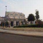 《ミラノ》から《ローマ》へ電車移動