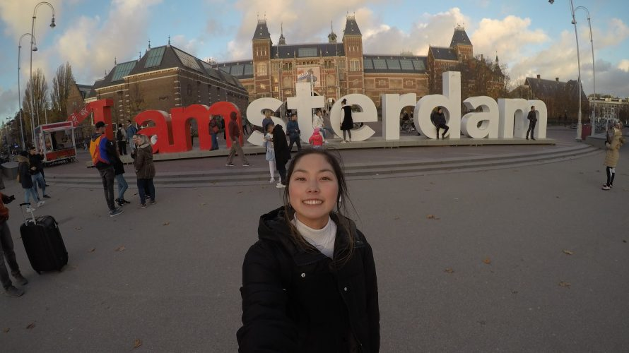 とにかく写真映えするオランダ《アムステルダム》